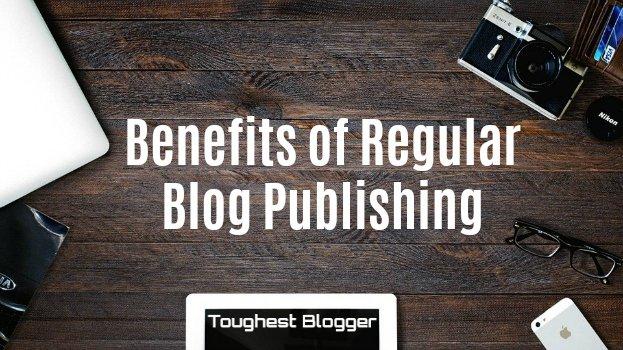 benefits regular blogging