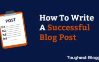 successfull blog post