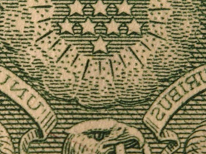 money with stars